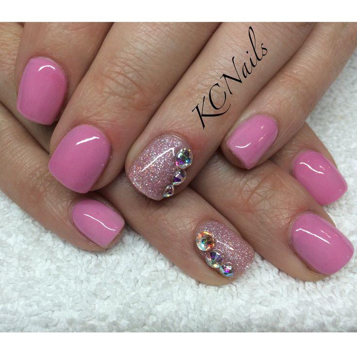 Acrylic overlay on natural nails - New Expression Nails