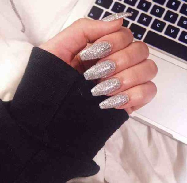 Baddie Coffin Nails New Expression Nails