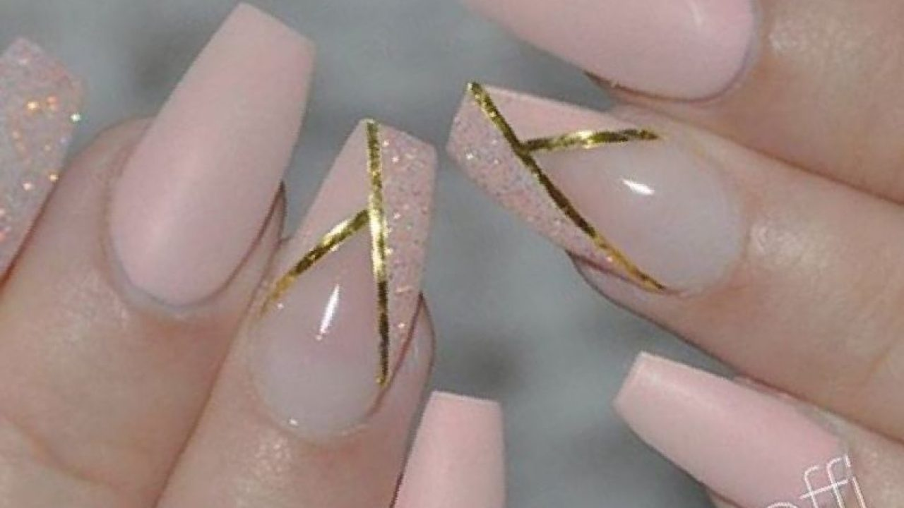 Coffin acrylic nails designs , New Expression Nails