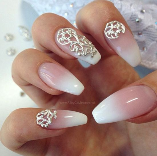 Coffin Ombre Nails New Expression Nails