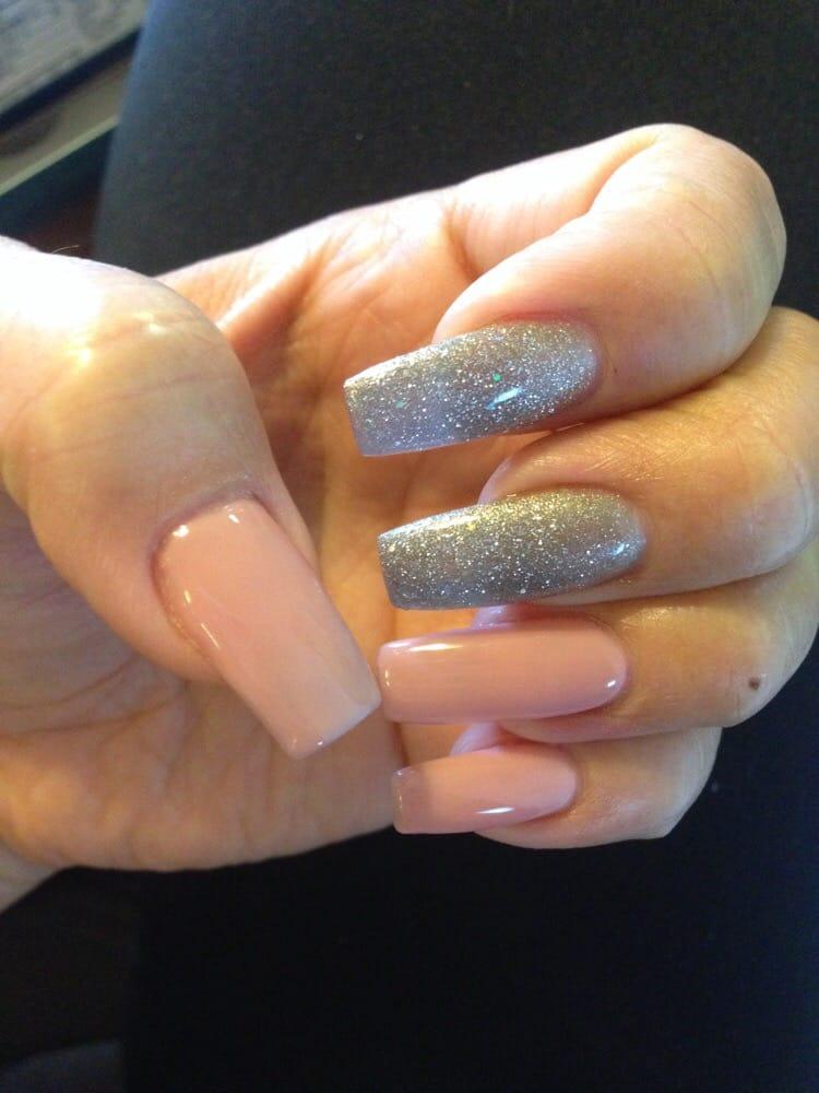 Coffin shalac nails - New Expression Nails