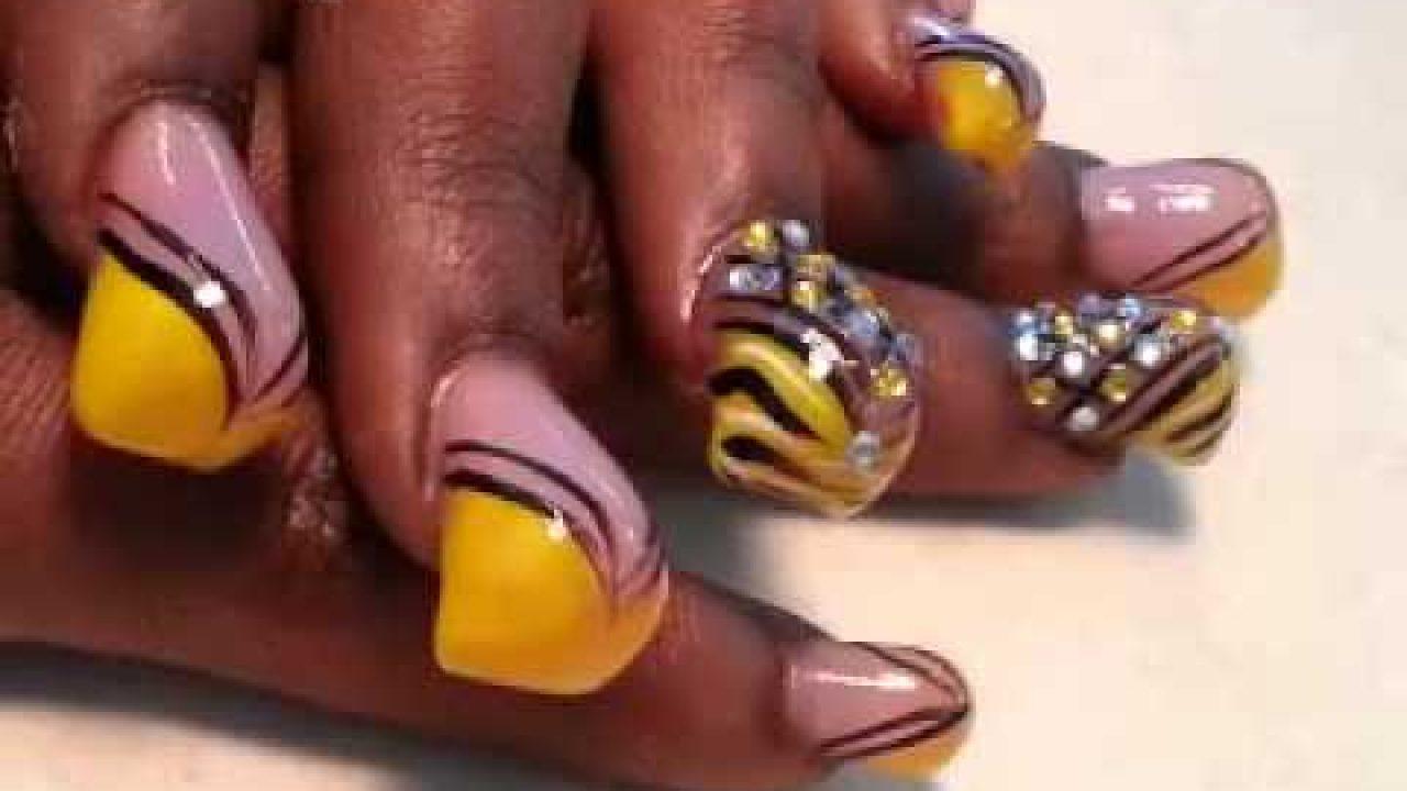 Fall acrylic nails ideas , New Expression Nails