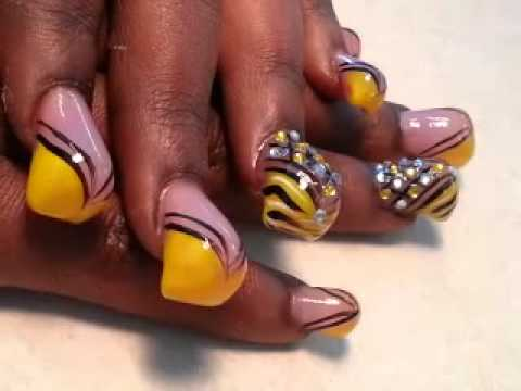 fall acrylic nails ideas  new expression nails