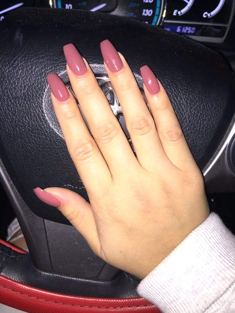 How Much Are Coffin Acrylic Nails New Expression Nails