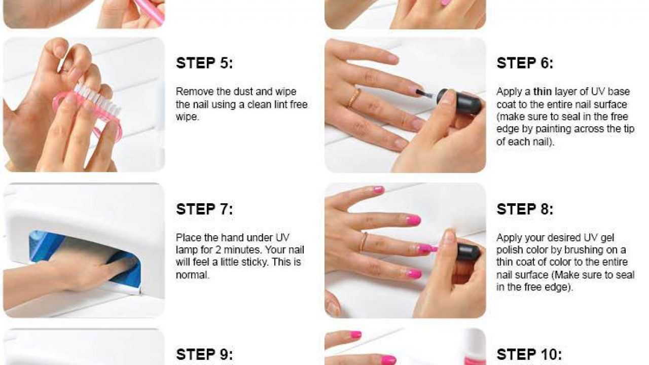 How to do gel nails - New Expression Nails