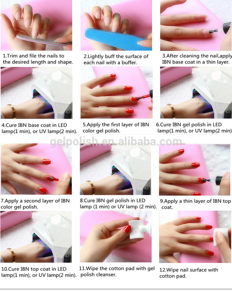 3 step gel nails - New Expression Nails