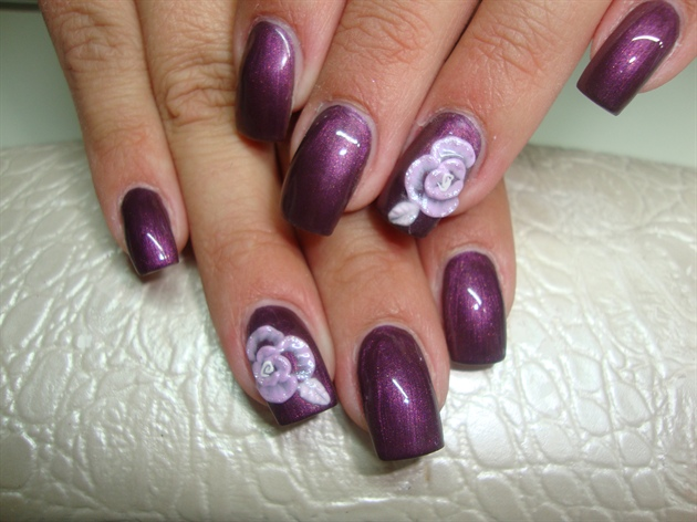 3d gel nails photo - 2