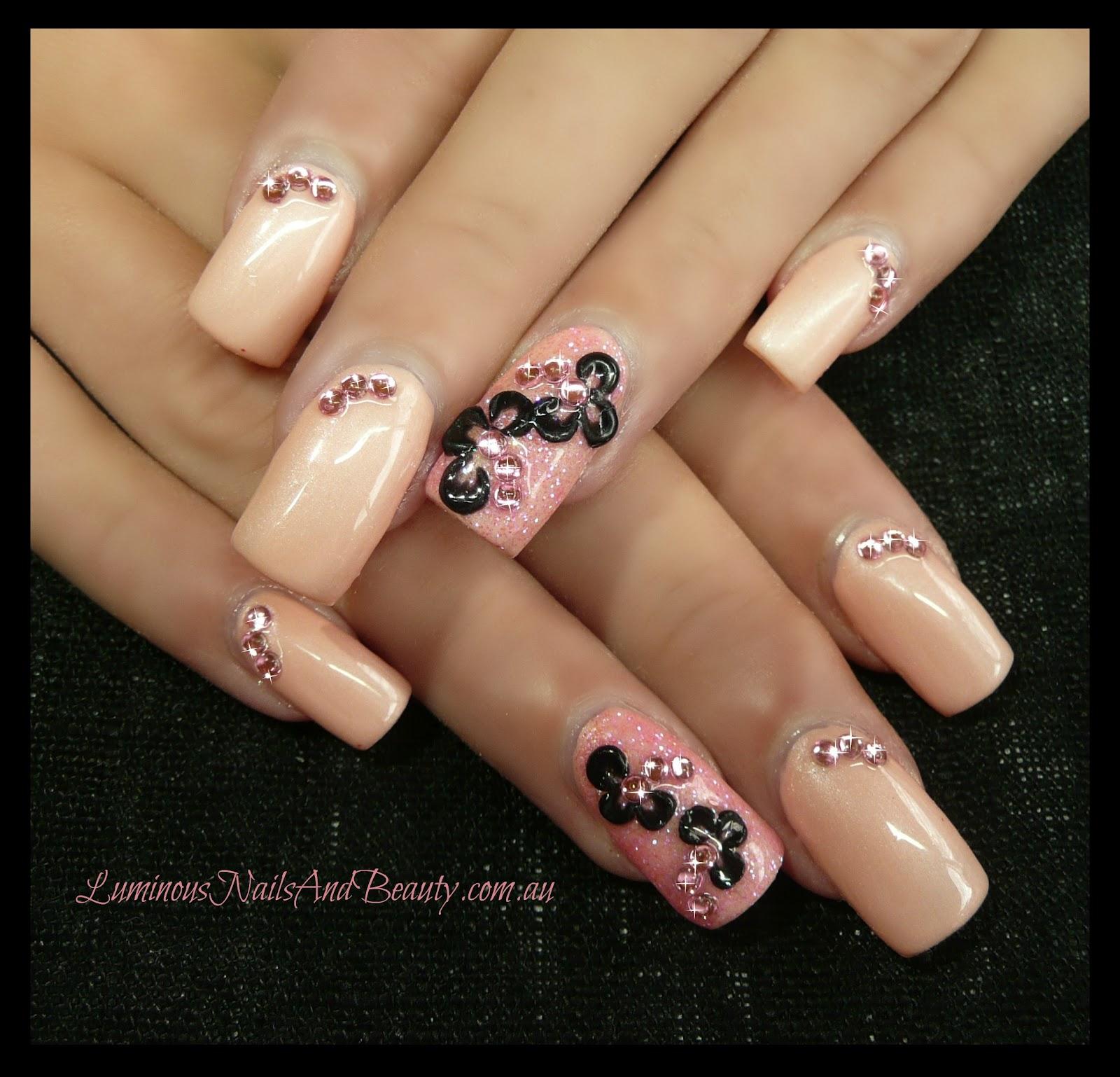 5 star nails acrylic photo - 1