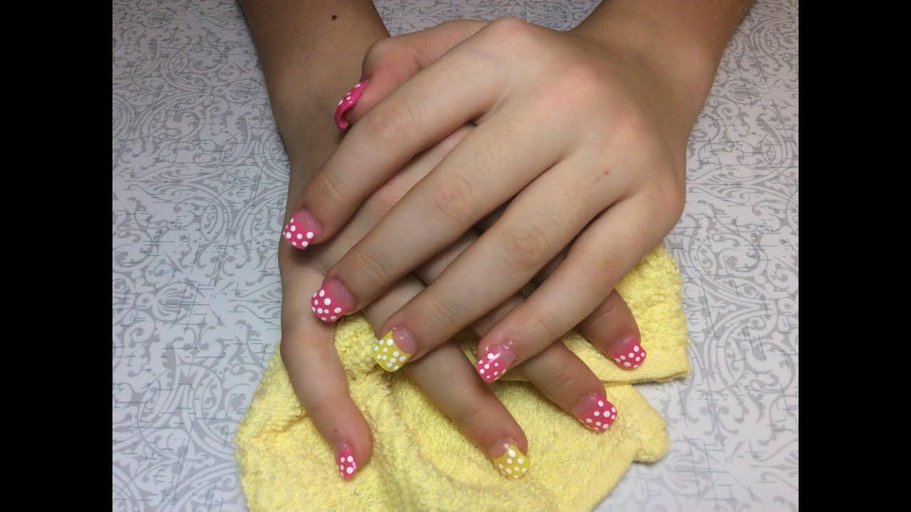 8 year old acrylic nails photo - 1