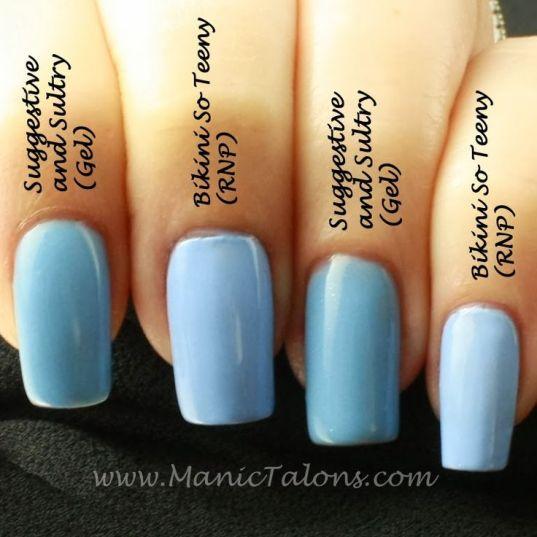 Japanese gel nails vs regular gel photo - 2