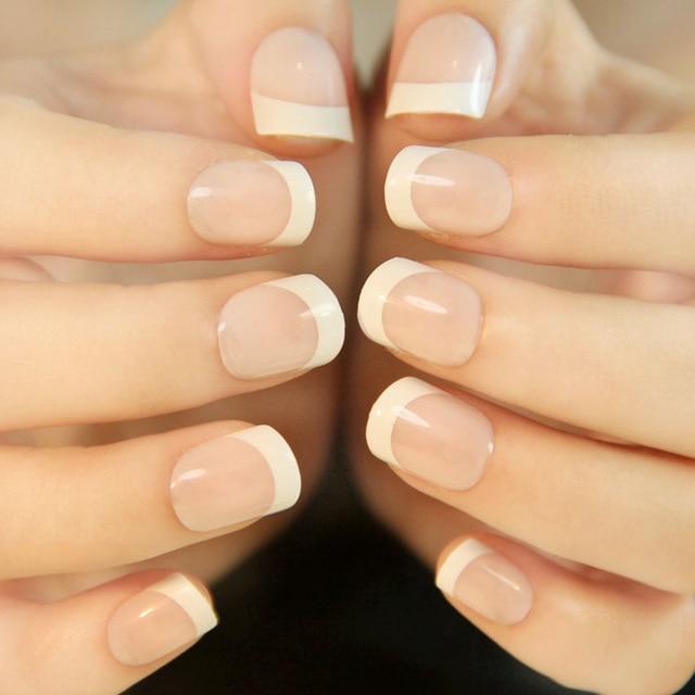 acrylic french tips nails photo - 1