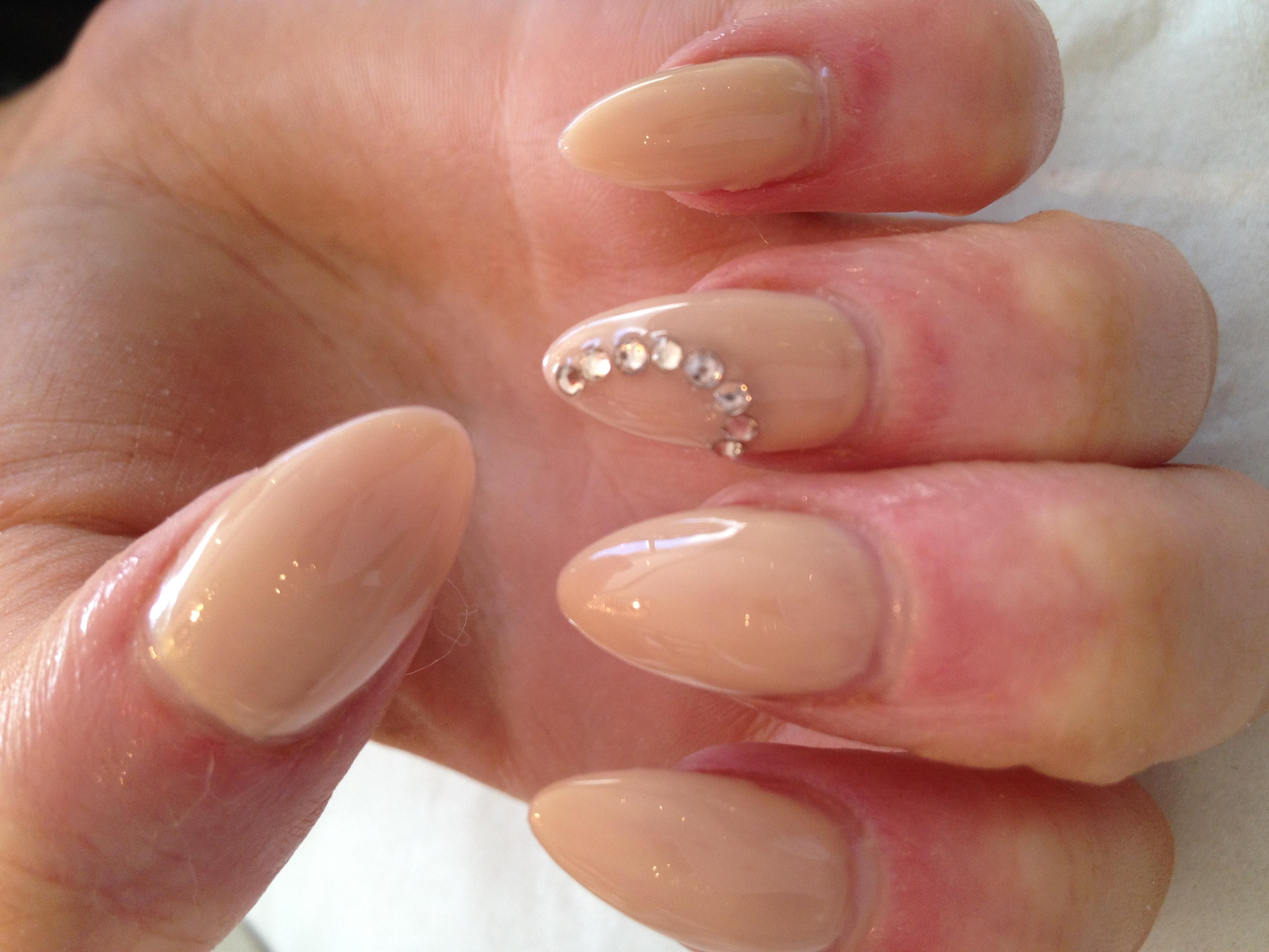 acrylic liquid nails photo - 2