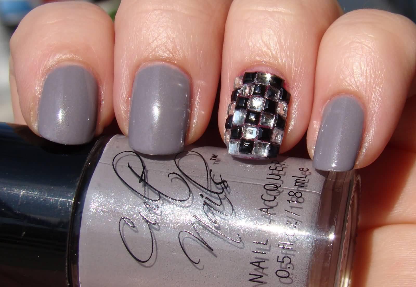 acrylic matte nails photo - 2