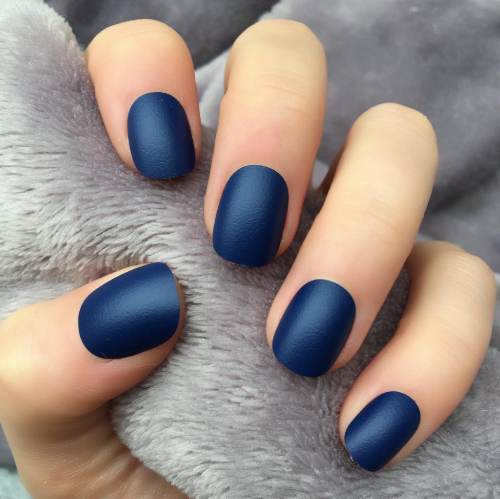 Acrylic matte nails - Expression Nails