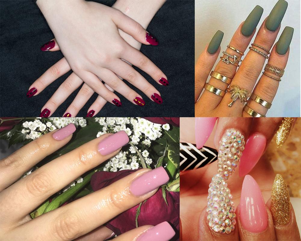 acrylic nail damage to natural nails photo - 1