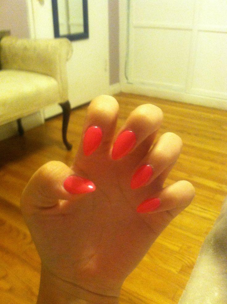 acrylic nails 1st time photo - 1