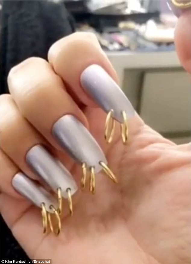 acrylic nails 2018 spring photo - 1