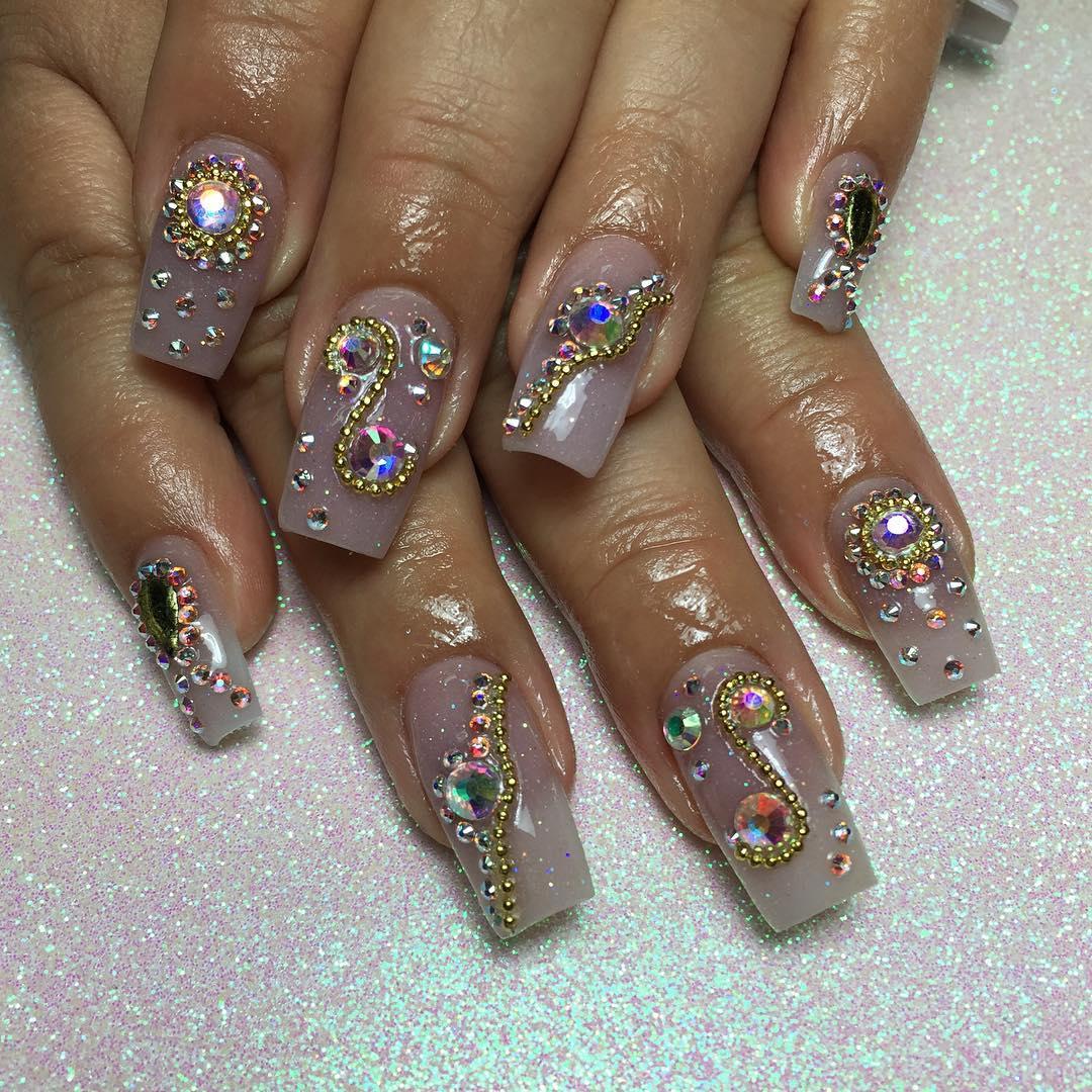 acrylic nails 2018 trends photo - 1