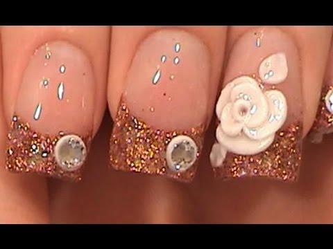acrylic nails 3d photo - 2