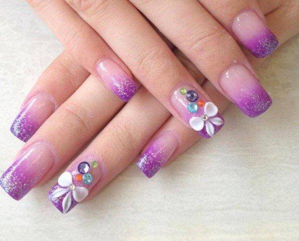 Acrylic nails art design - Expression Nails