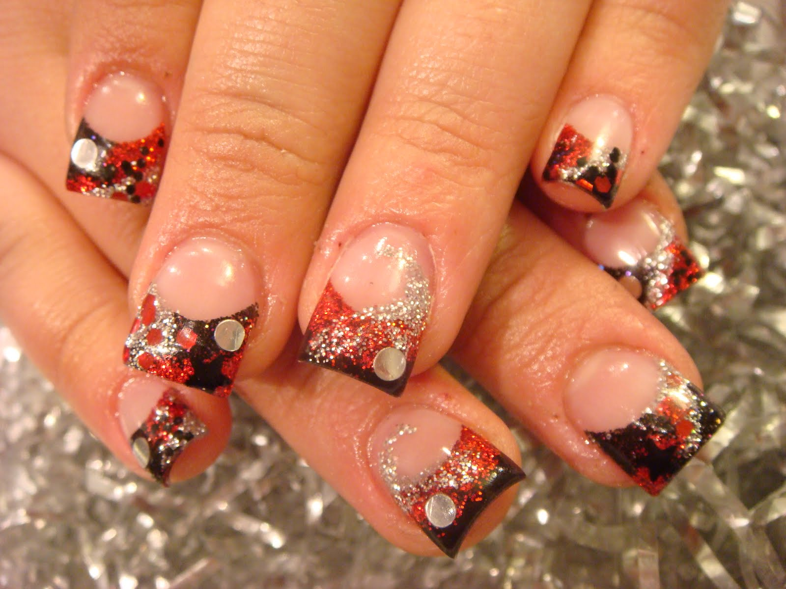 acrylic nails autumn photo - 1