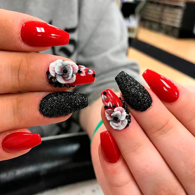 Acrylic Nails Christmas Design Expression Nails