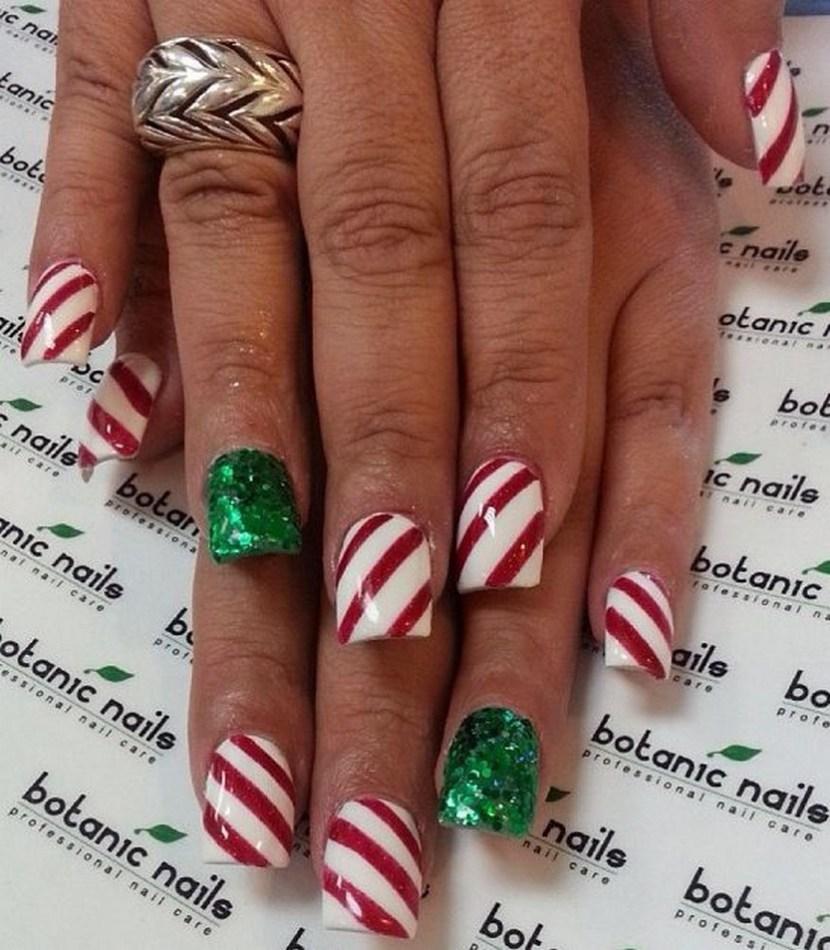 Acrylic Nails Christmas Designs Expression Nails