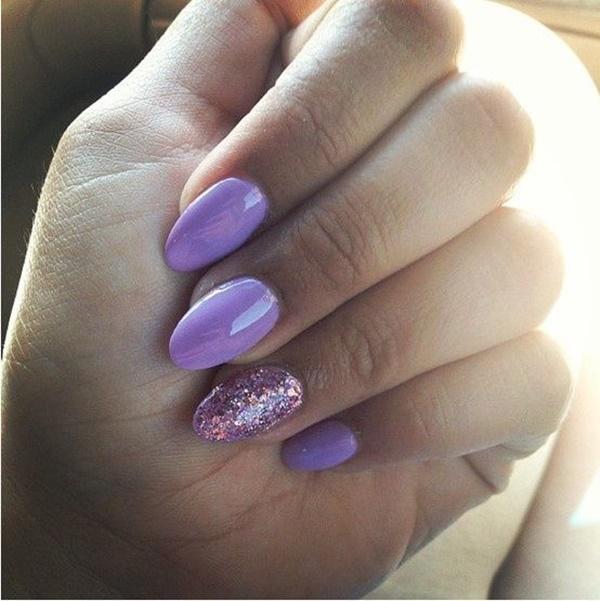 acrylic nails color designs photo - 1