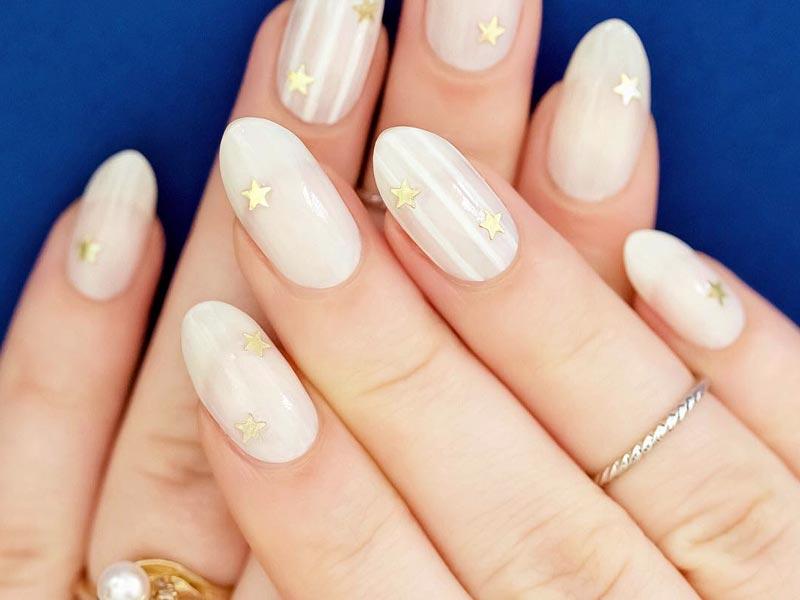 acrylic nails color designs photo - 2