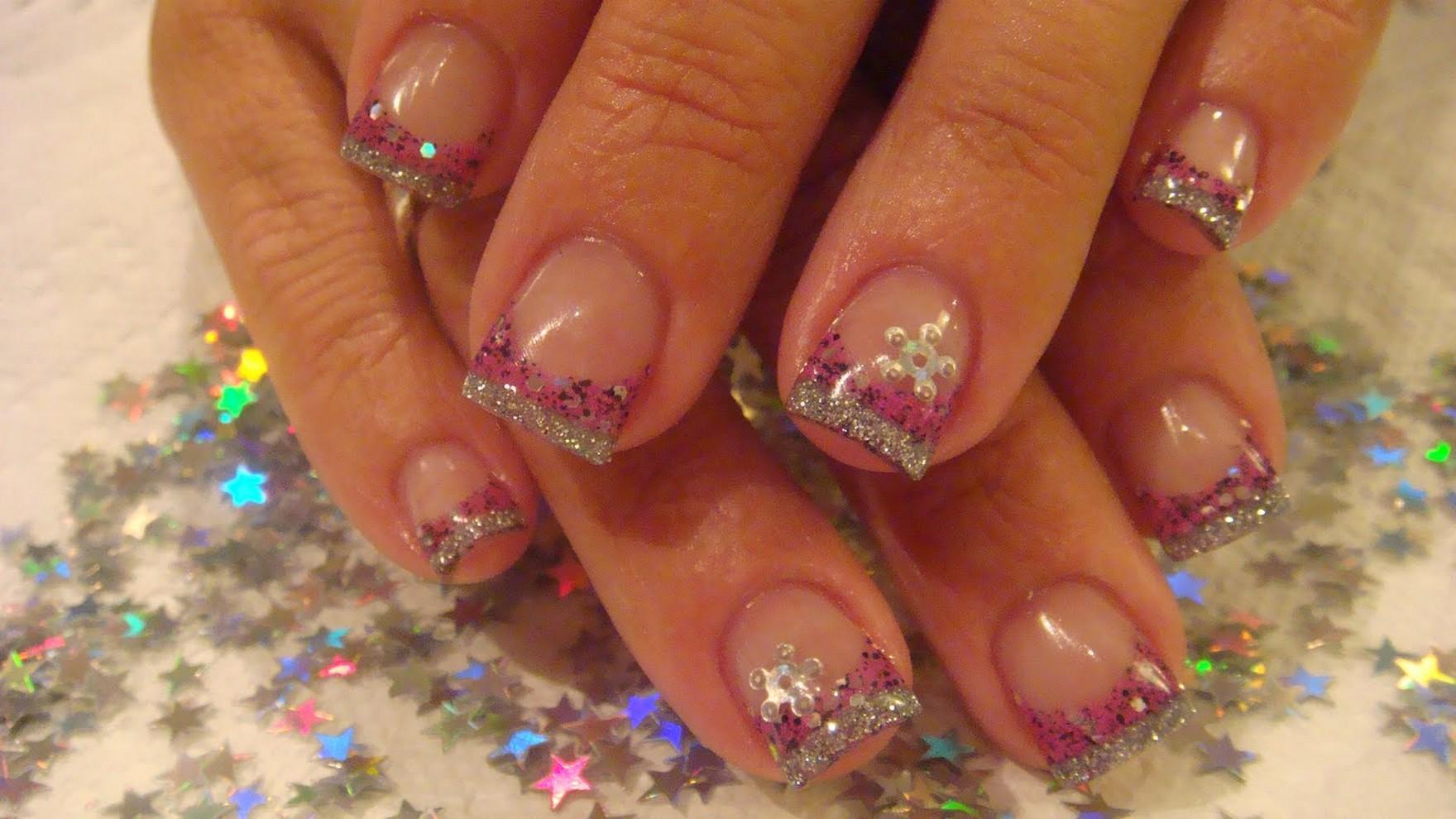 acrylic nails cute photo - 1