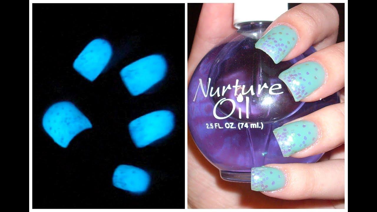 acrylic nails dark photo - 1