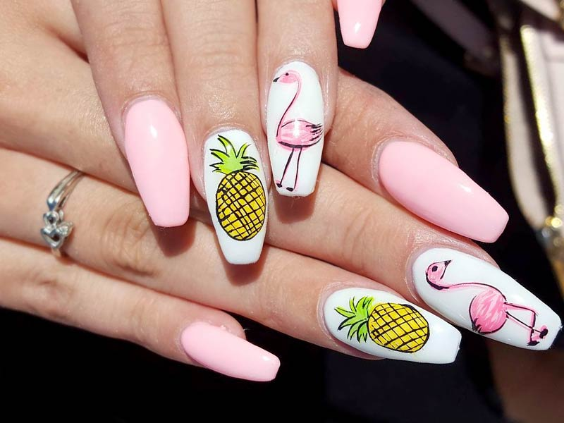 Acrylic Nails Designs For Summer Expression Nails