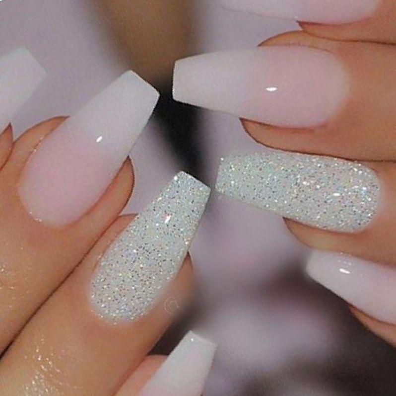 Nail Designs Grey Ombre