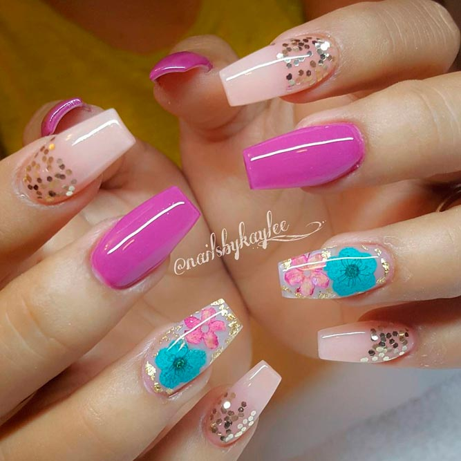 Acrylic Nails Designs With Rhinestones New Expression Nails