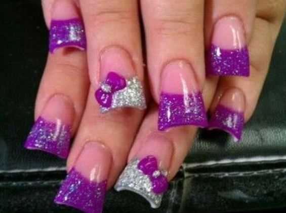 acrylic nails extensions photo - 1
