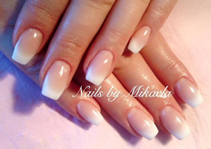acrylic nails for bride photo - 1