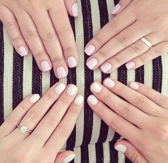acrylic nails for pale skin photo - 1