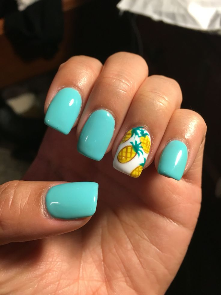 acrylic nails for summer photo - 2