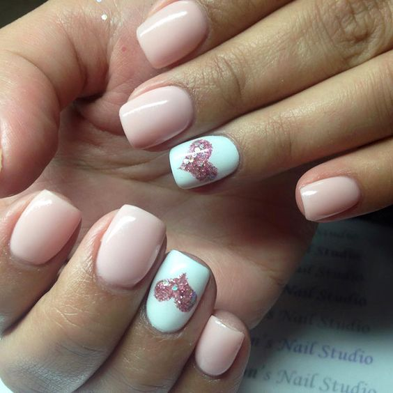 acrylic nails for typing photo - 1