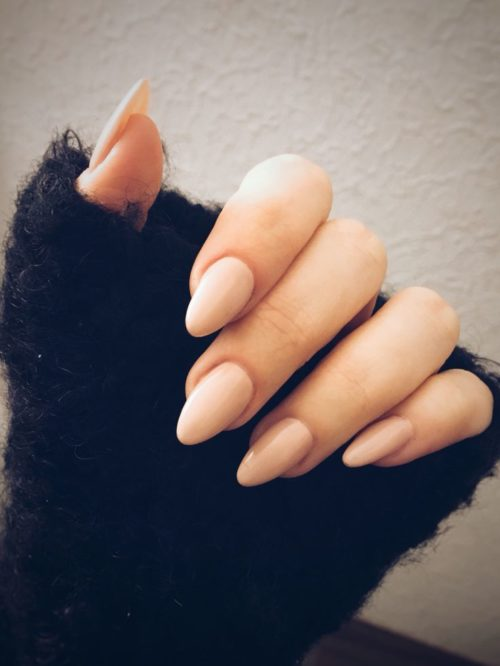 acrylic nails for typing photo - 2