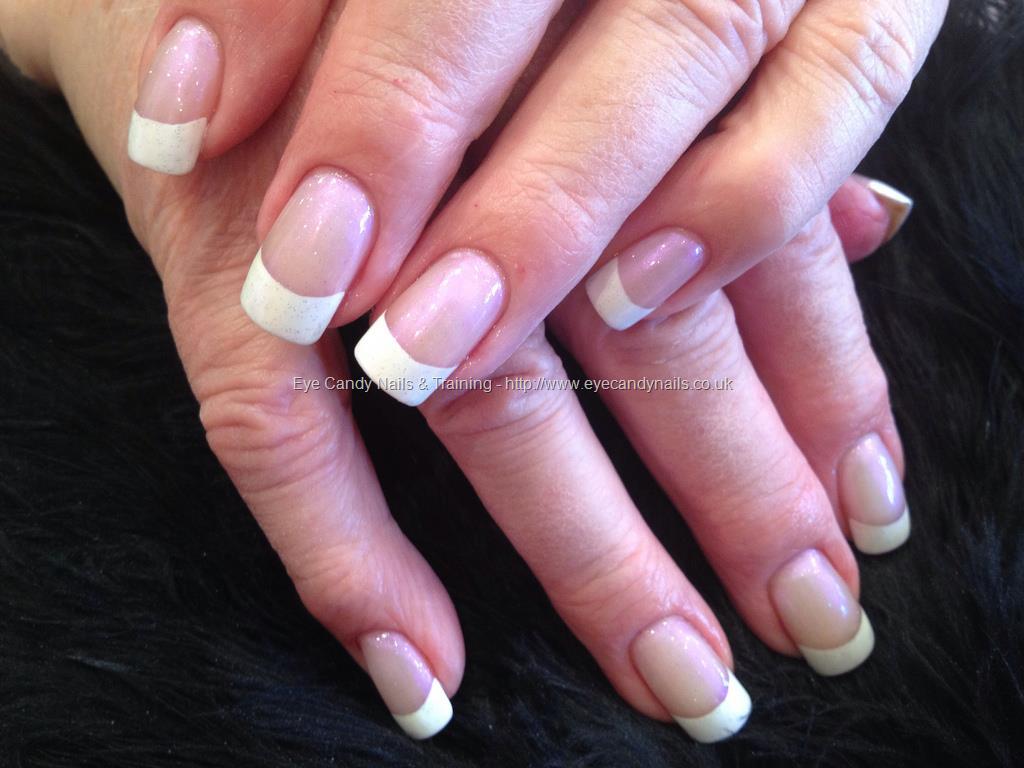 acrylic nails french photo - 2
