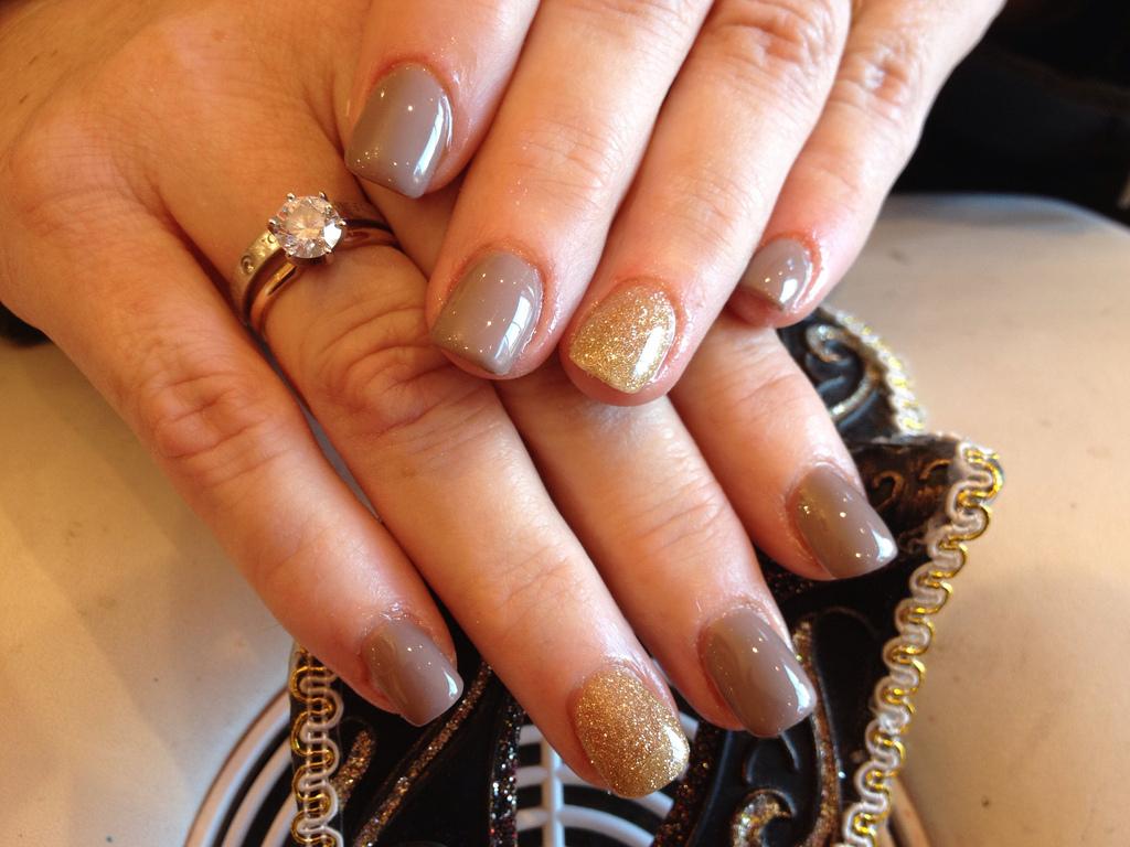 acrylic nails gel polish photo - 1