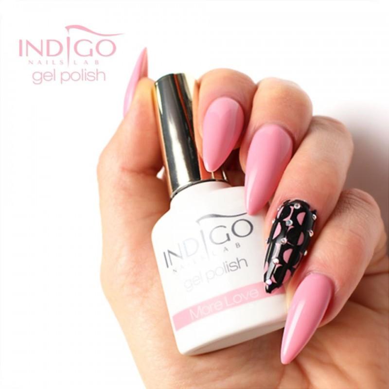 acrylic nails gel polish photo - 2