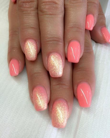 acrylic nails holiday colours photo - 2