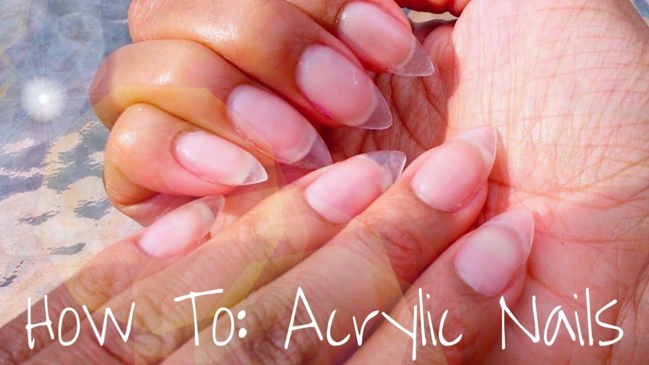 acrylic nails how to do photo - 1