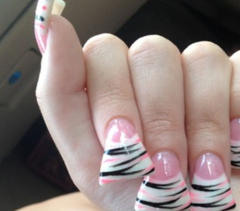 acrylic nails ibd photo - 2