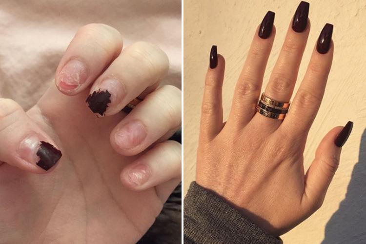 acrylic nails instagram photo - 2