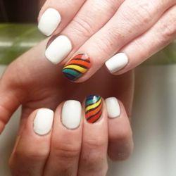 acrylic nails jersey city photo - 2