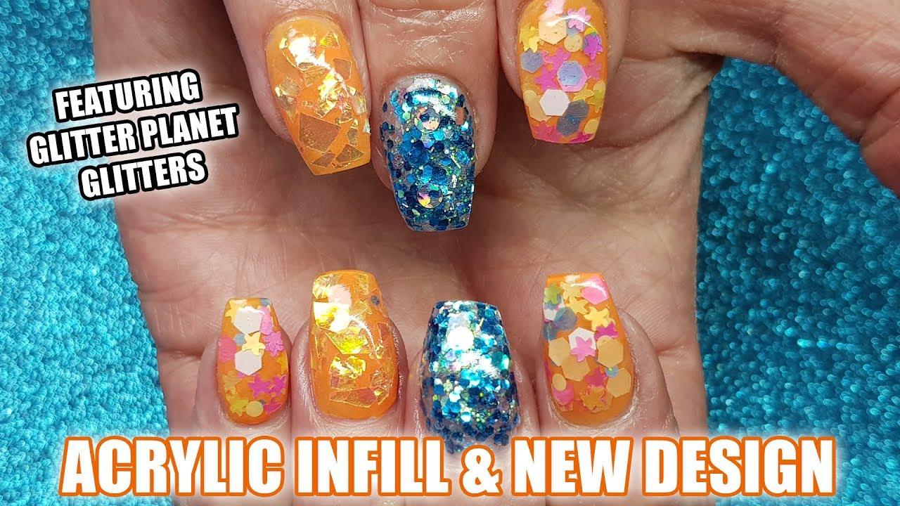 Acrylic nails lifting fix - Expression Nails