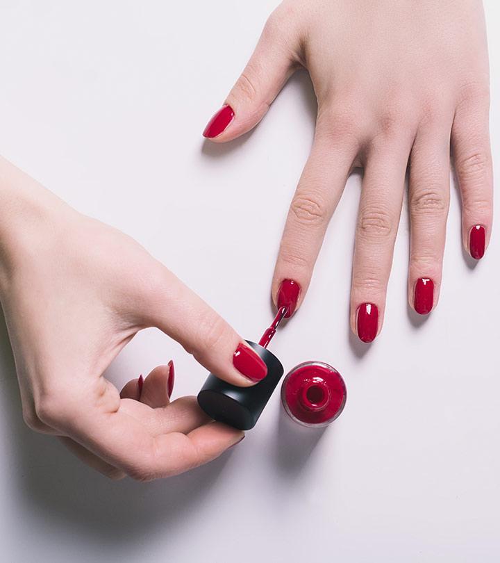 acrylic nails light skin photo - 1